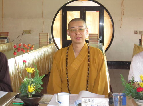 中華民國鋐揚淨土正法協會理事長