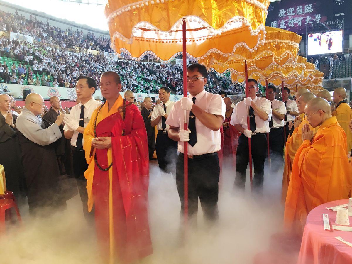 中國佛教會副理事長明光大和尚