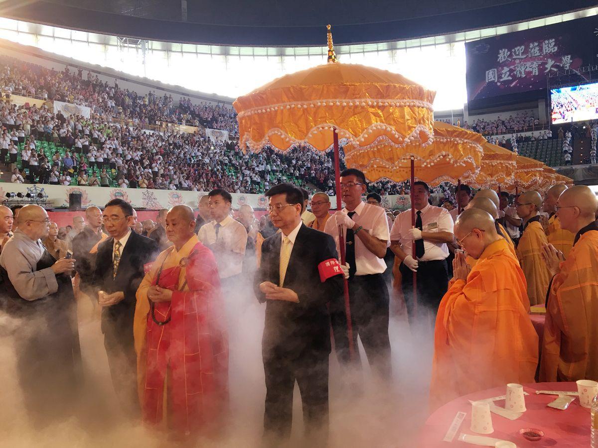 中國佛教會理事長圓宗長老